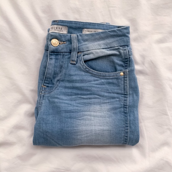 GUESS Jeans, Power Skinny Low